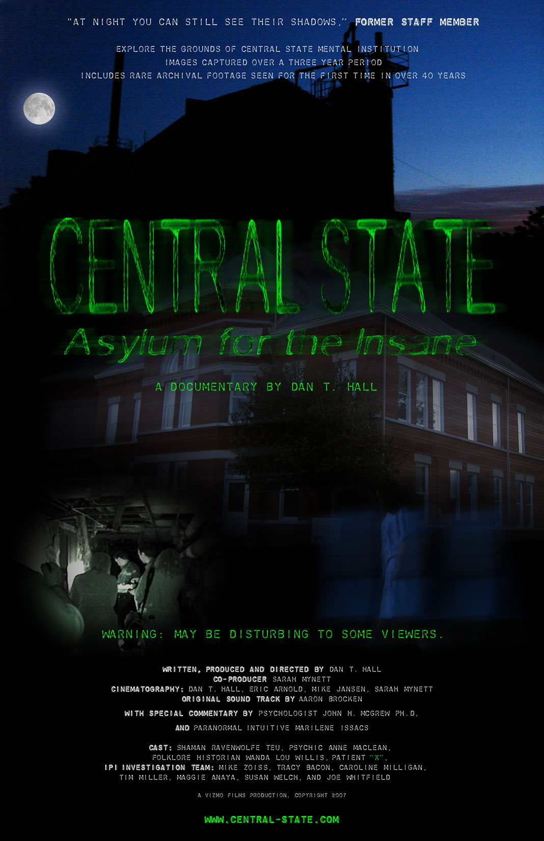 IPI – Central State Hospital Indianapolis, Indiana Tunnels Central State Indianapolis Map on